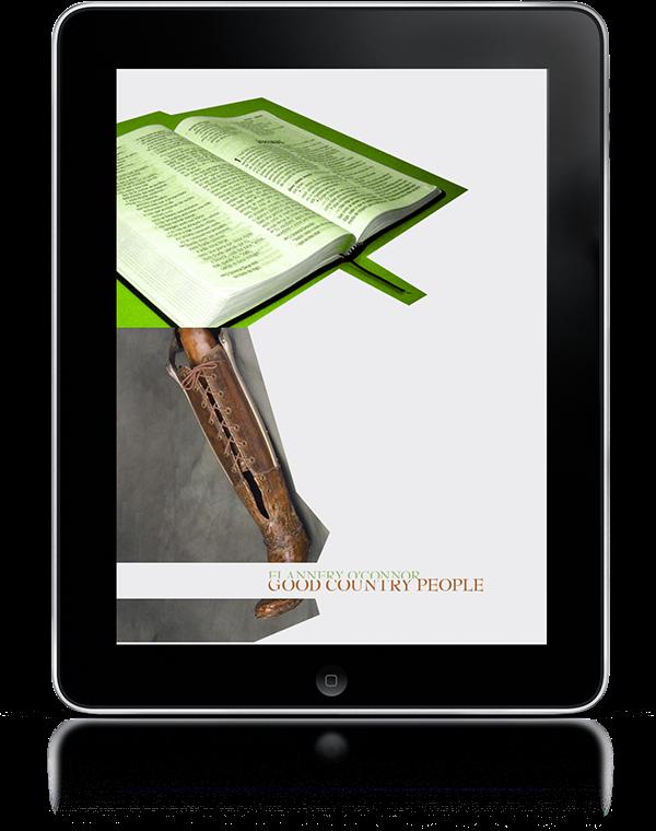 eBooks,iBooks,iPad,flannery o'connor,book covers