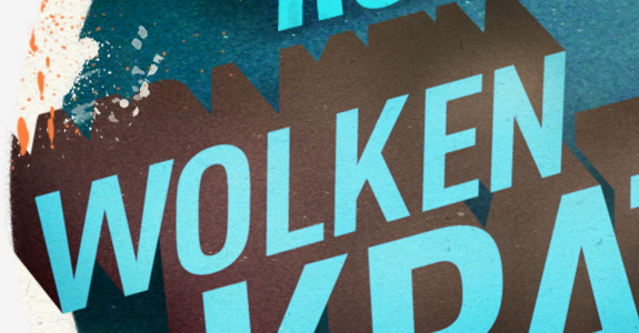 Kraken recordings label design rad