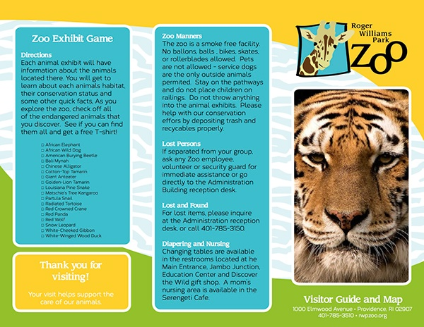 Rebranding rwp zoo on behance for Exhibitor prospectus template