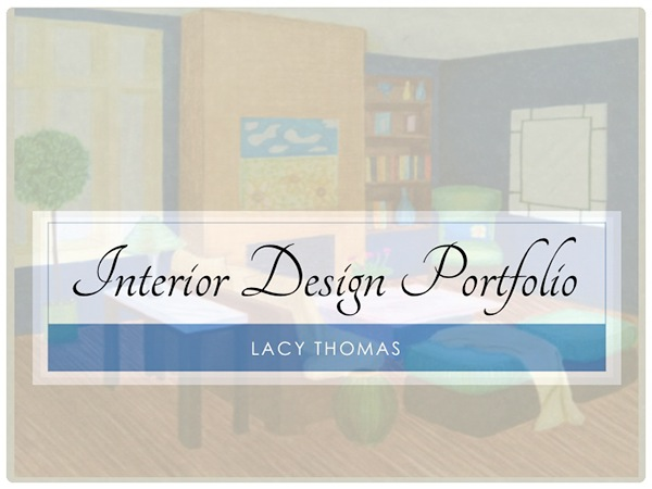 Interior Design Portfolio On Behance