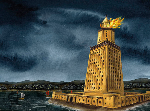 the pharos lighthouse of alexandria essay The lighthouse of alexandria, sometimes called the pharos of alexandria (in ancient greek, ὁ φάρος τῆς ἀλεξανδρείας), was a lofty tower built by the ptolemaic kingdom between 280 and 247 bc on the coastal island of pharos at alexandria.