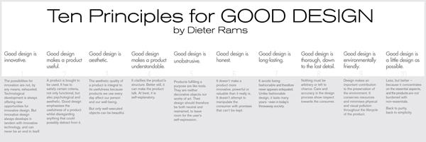 Vitsoe and Dieter Rams' Principles of Good Design