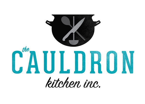 The cauldron kitchen logo on behance for Kitchen decoration logo