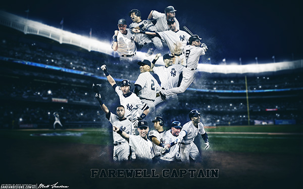 Derek Jeter Farewell Captain On Behance