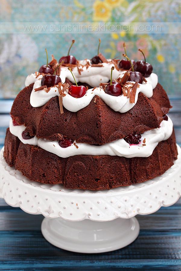 Black Forest Bundt Cake Desserts