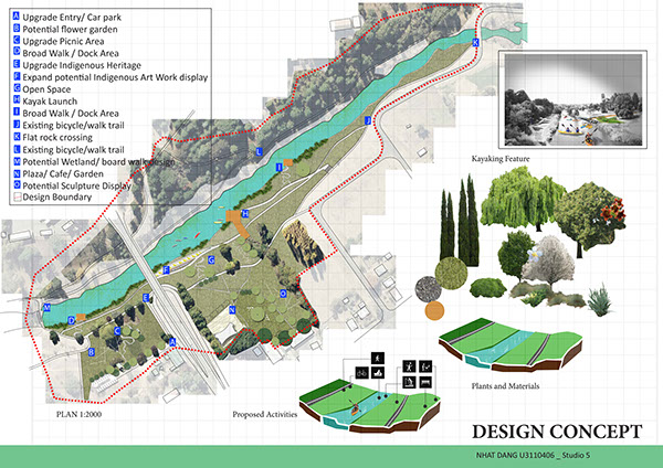 Yass Landscape Architect Project On Student Show
