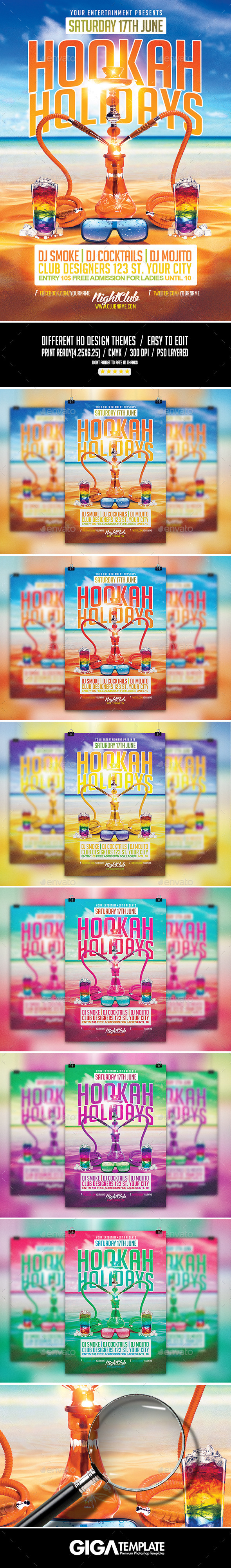hookah holidays summer party psd flyer template on behance this is a flyer for all kind of party you can modify everything very easy and quick changing the color style picture typo is no problem