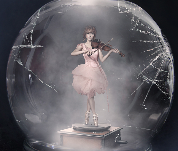 """Shatter Me"" album art Lindsey Stirling on Behance"
