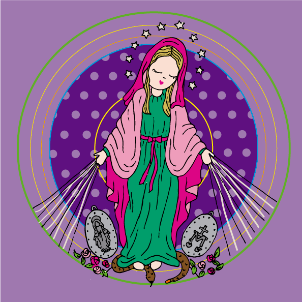 Virgen De La Medalla Milagrosa