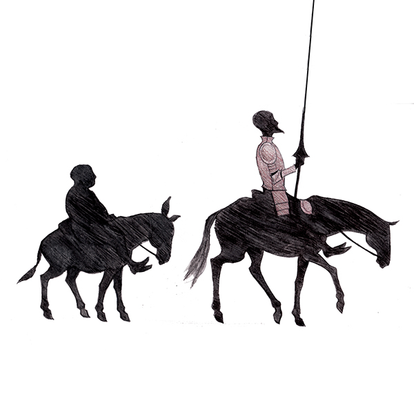 hamlet v don quixote Recommended citation parypinski, joanna, shakespeare and cervantes are dead: the construction of fiction and reality in hamlet and don quixote (2011.