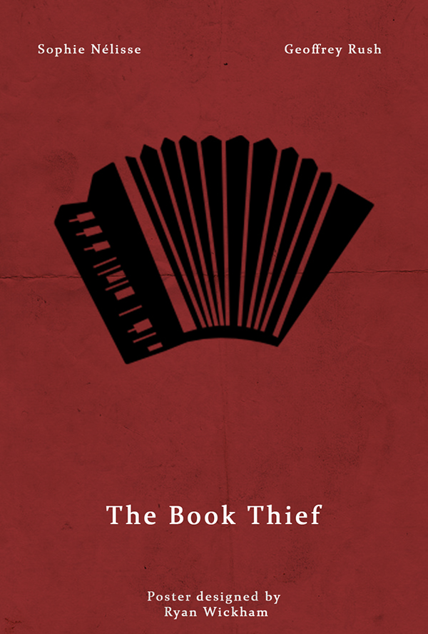 Film Posters The Book Thief On Behance
