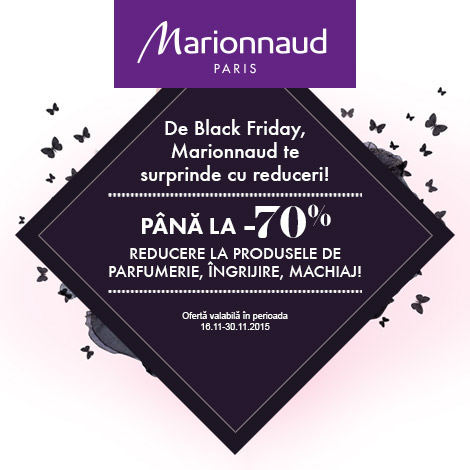 Marionnaud Romania Black Friday Campaign Banners On Behance