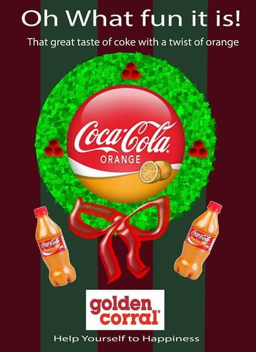 golden corral christmas advertistment on behance
