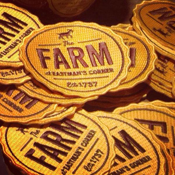 logo Signage new hampshire local food rwd farm postcard