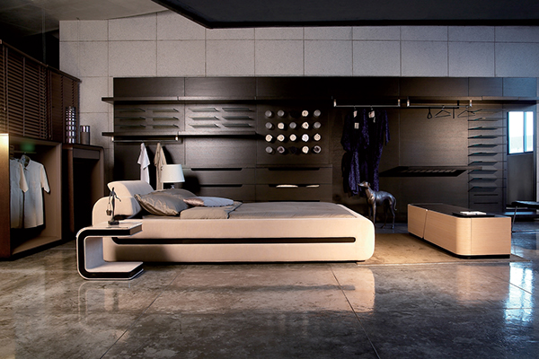 G bed bedroom collection i on behance - Focal point art essential aspect decor ...
