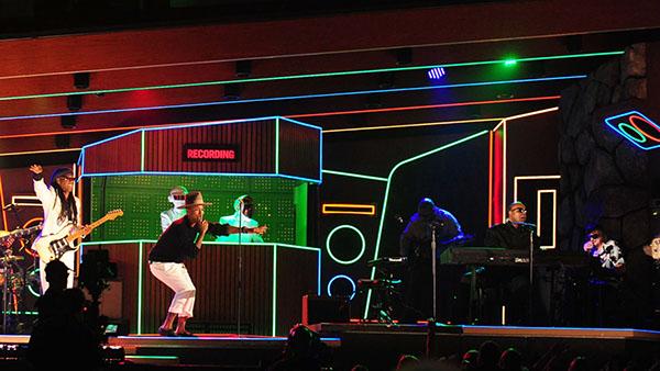 daft punk 2014 grammy s stage design on behance daft punk 2014 grammy s stage design on