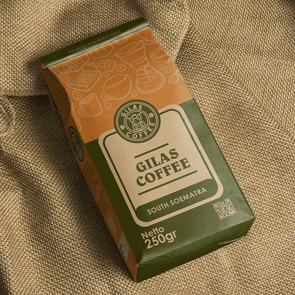 Gilas Coffee - Logo & Packaging