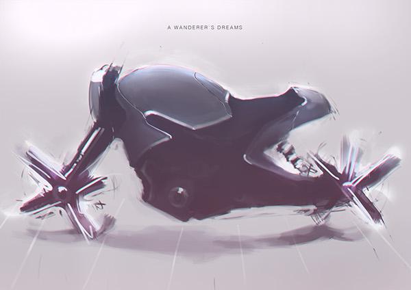 Bike Sketches by Christoph Sokol