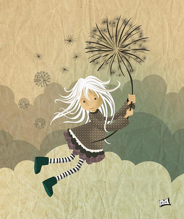 wind faerie hada green viento