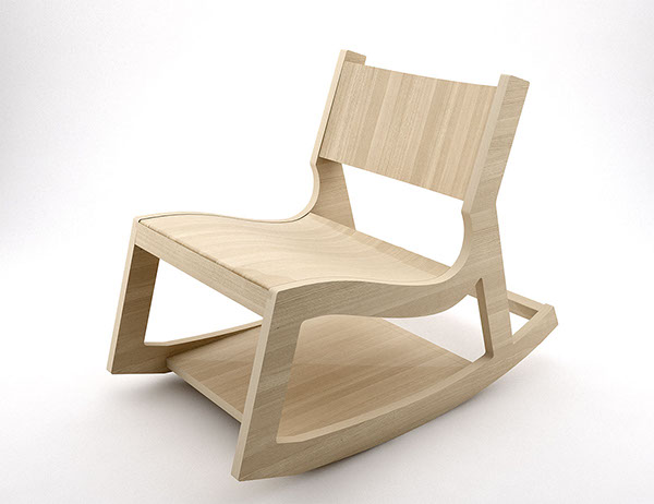 Tom Lounge Chair And A Rocker On Behance