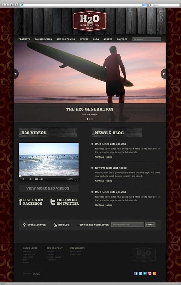 H2O Generation Web Design & Development
