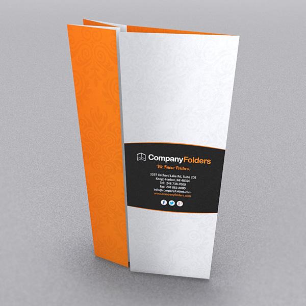unique brochure folds on behance