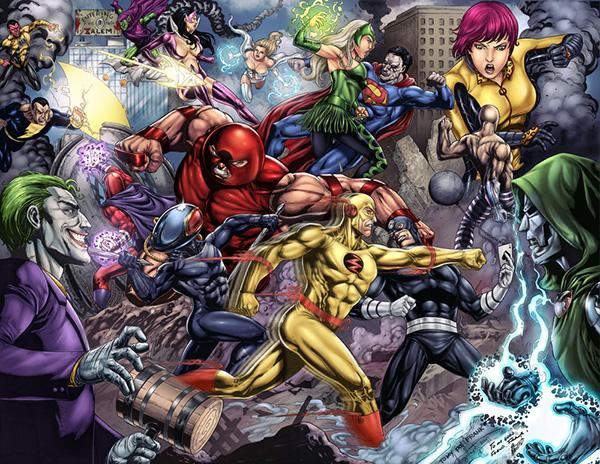 Villanos Marvel Vs Villanos Dc Colores On Wacom Gallery