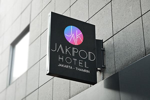 Jakpod Hotel's logo