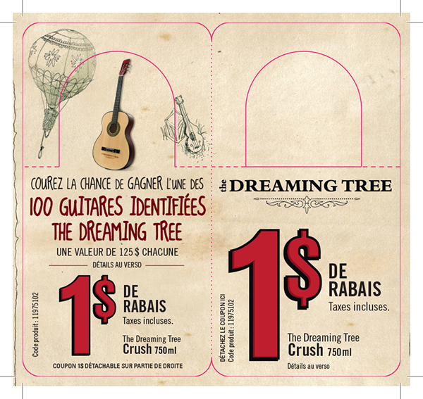 dreaming tree sweepstakes the dreaming tree wines win a guitar contest on behance 3033
