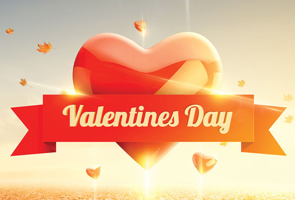 Valentines Day Flyer Template On Behance