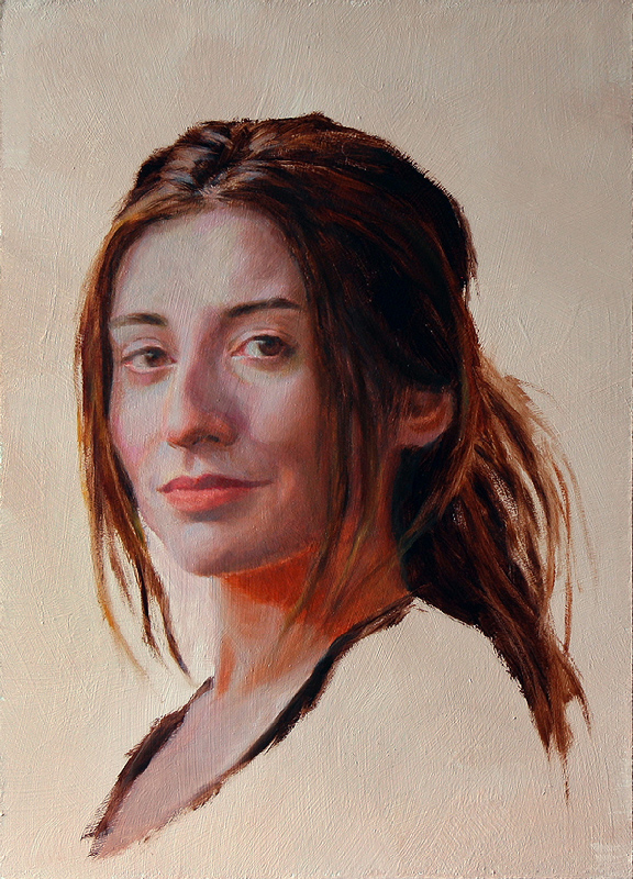 portrait painting   oilpainting Realism contemporaryart