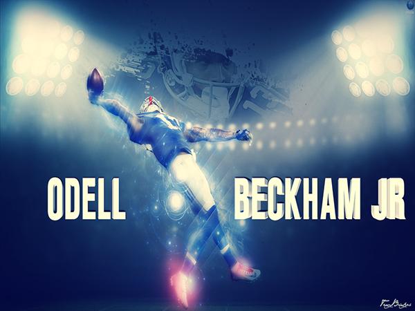 The Big Catch Odell Beckham Jr On Behance