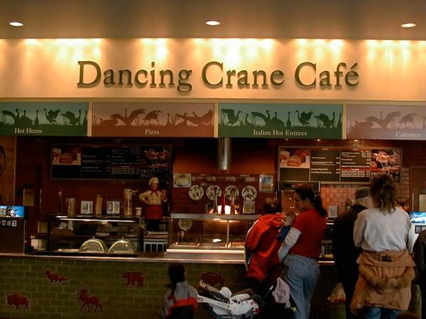 Bronx Zoo Dancing Crane Cafe Menu