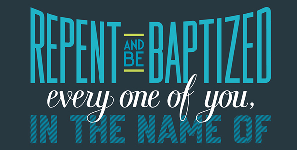 bible Hand-lettered verse Acts type