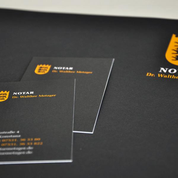 Akzidenz Briefbogen Visitenkarten On Behance