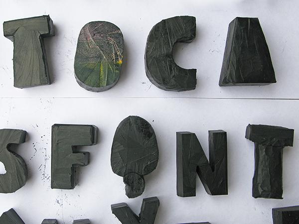 tipografia social Brasil brasilian fonte