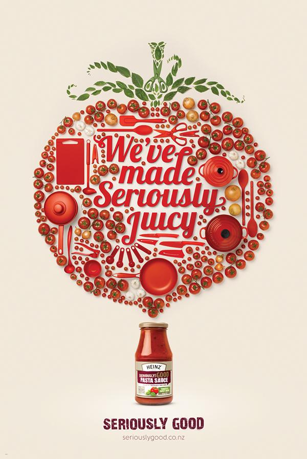heinz dave brady print food ad
