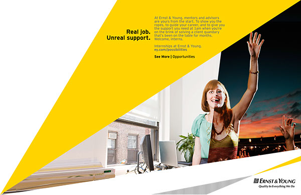 Ernst & Young on Behance