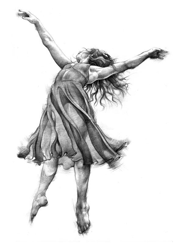 танцующий человек картинки карандашом взят анкара старых