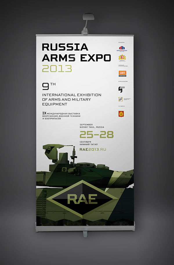 Russia Arms Expo 2013 on Pantone Canvas Gallery
