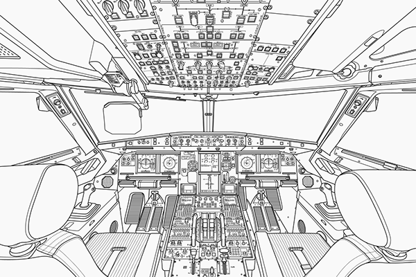 Airbus A320 Cockpit On Behance