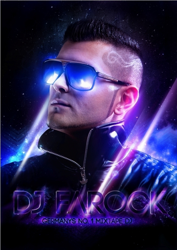 flyer DJ Farock svpermachine cover mixtape