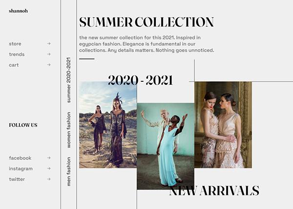 Shannoh / web redesign