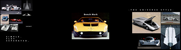 Mercedes Vision Mantilla Concept electric Lemans car