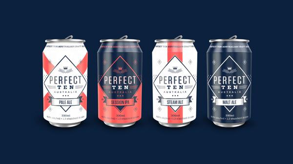Perfect Ten Craft Beer On Behance