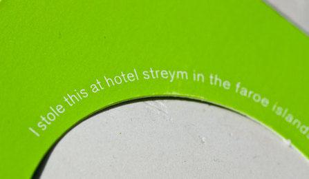 hotel faroes fresh identity