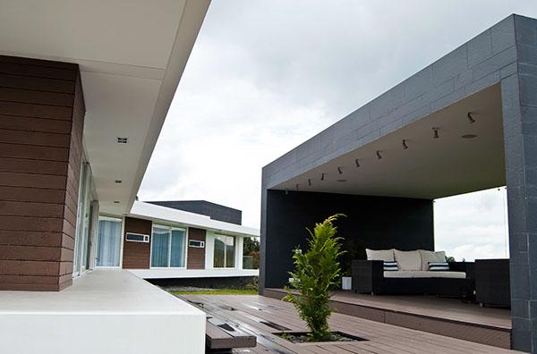 Casa valle alto on behance - Casas de arquitectos ...