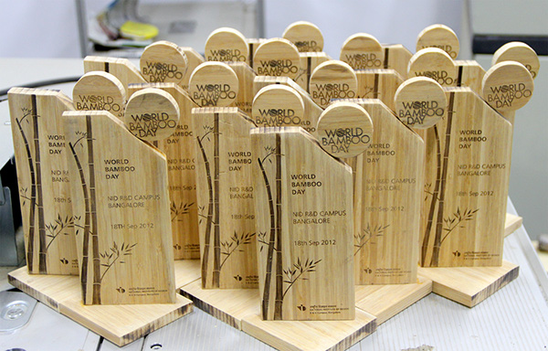 World Bamboo Day Trophy Design On Behance