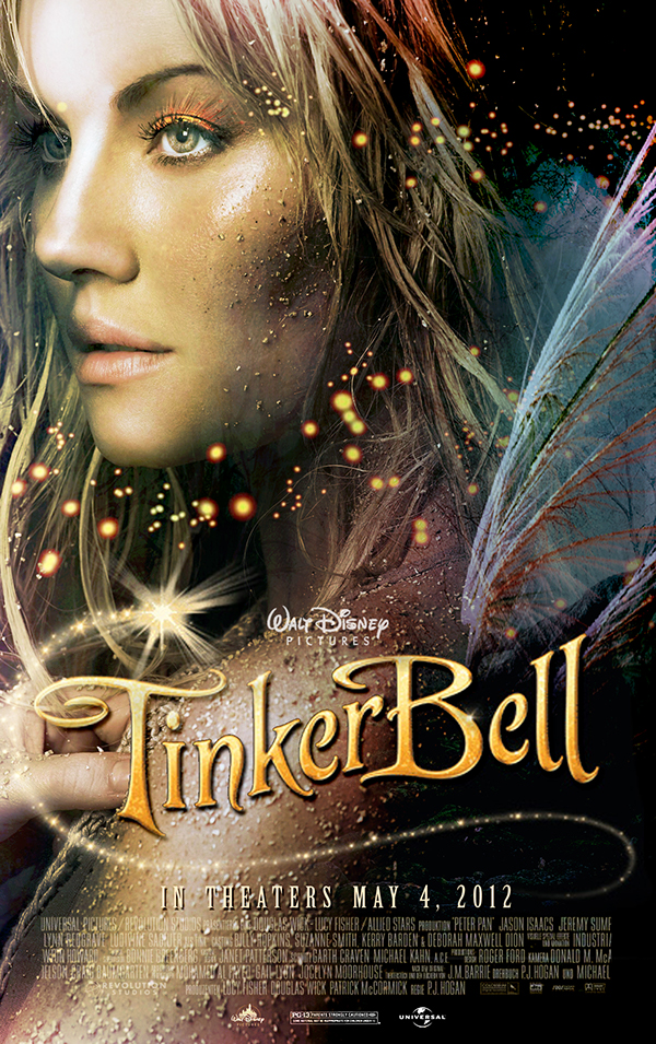 """Tinker Bell"" Live-Action Film Campaign on Behance"