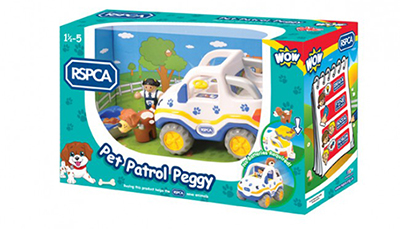 WOW Toys rspca Pocket pals animals Cartoons